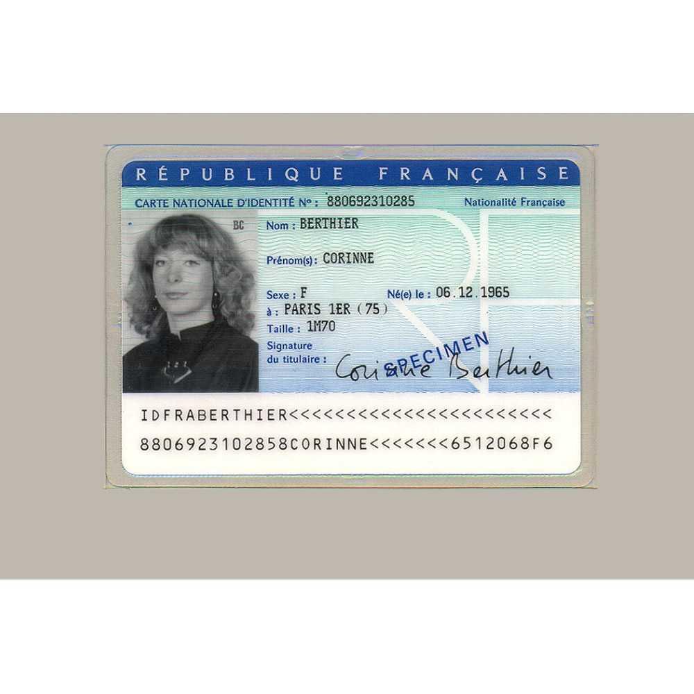 Buy French Original Id Card Online, Fake National Id Card Of Pertaining To French Id Card Template