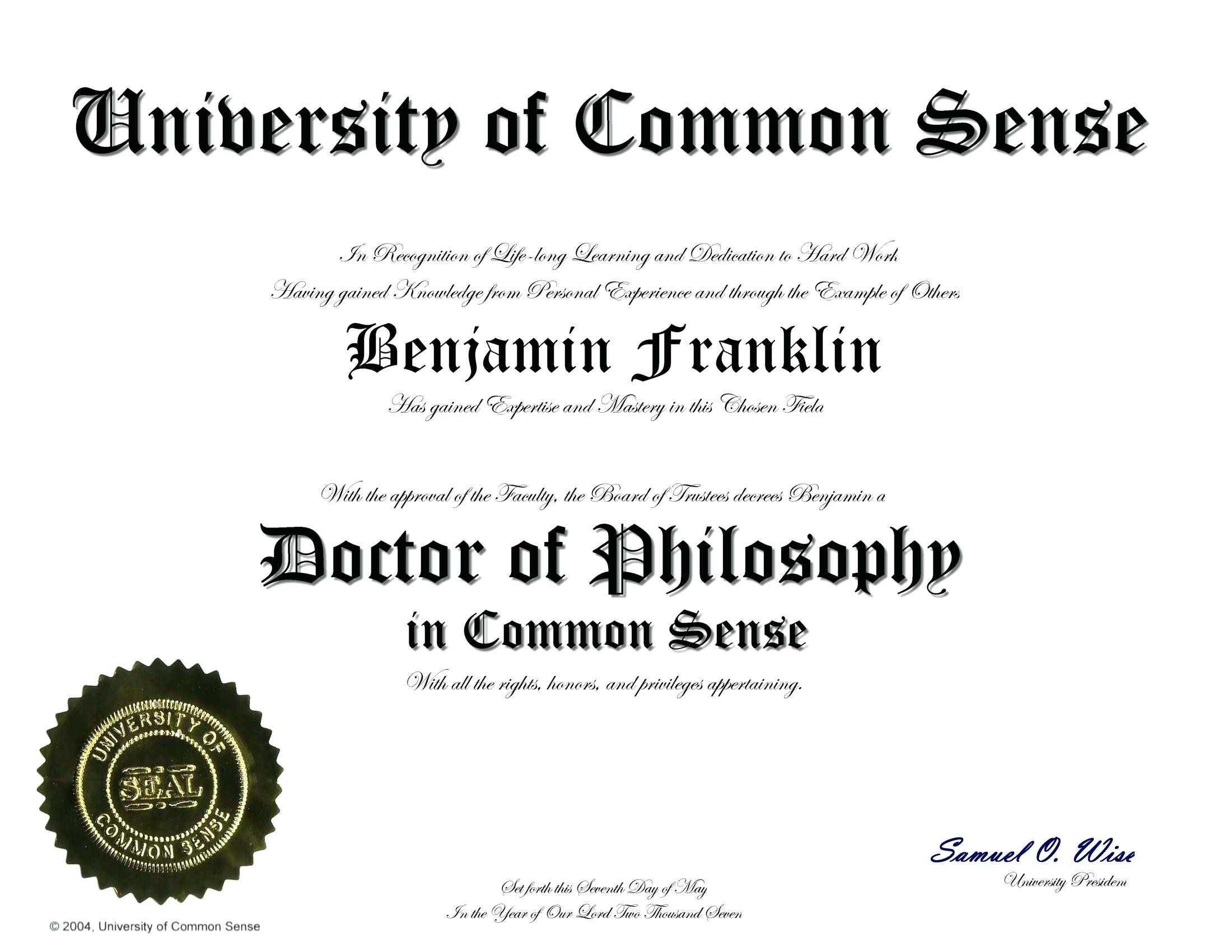 Certificate Clipart Phd, Picture #323547 Certificate Clipart Phd Inside Doctorate Certificate Template