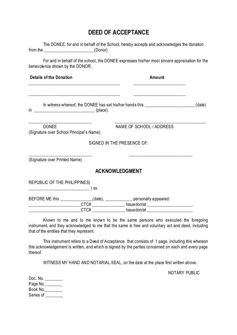 Certificate Of Acceptance Sample - Horizonconsulting.co Within Certificate Of Acceptance Template