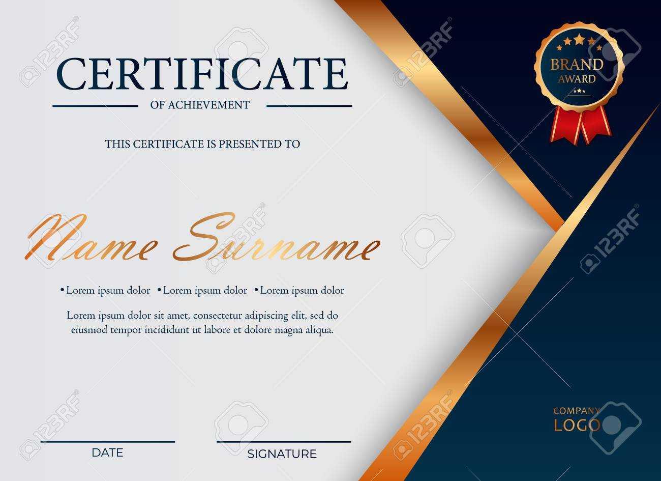 Certificate Of Appreciation, Award Diploma Design Template. Certificate.. Within Award Certificate Design Template