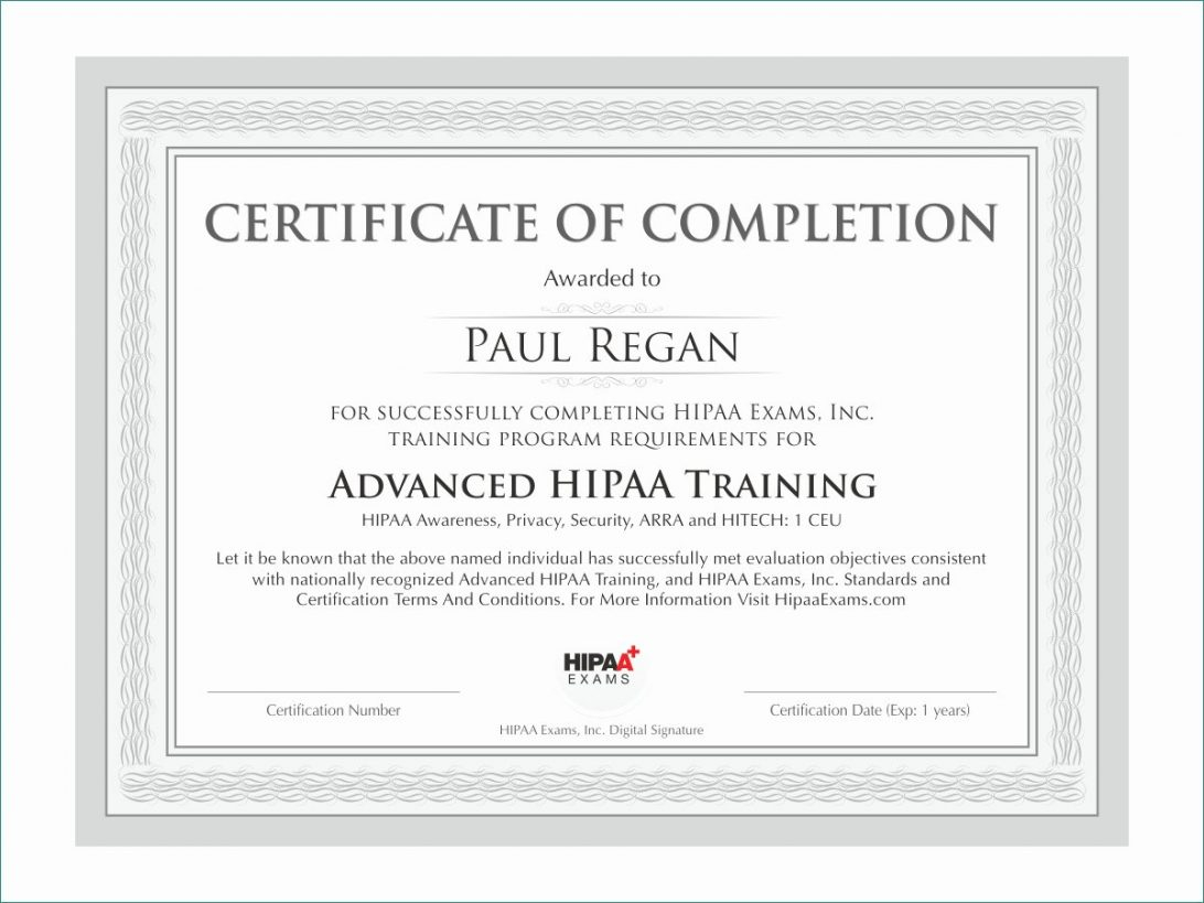Certificate Of Completion Template Word Training Format Ojt For Certificate Of Completion Template Word