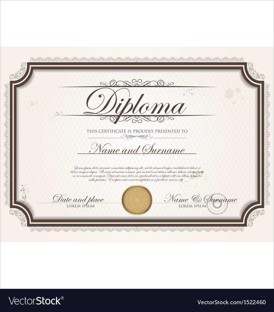 Certificate Template With Regard To Commemorative Certificate Template