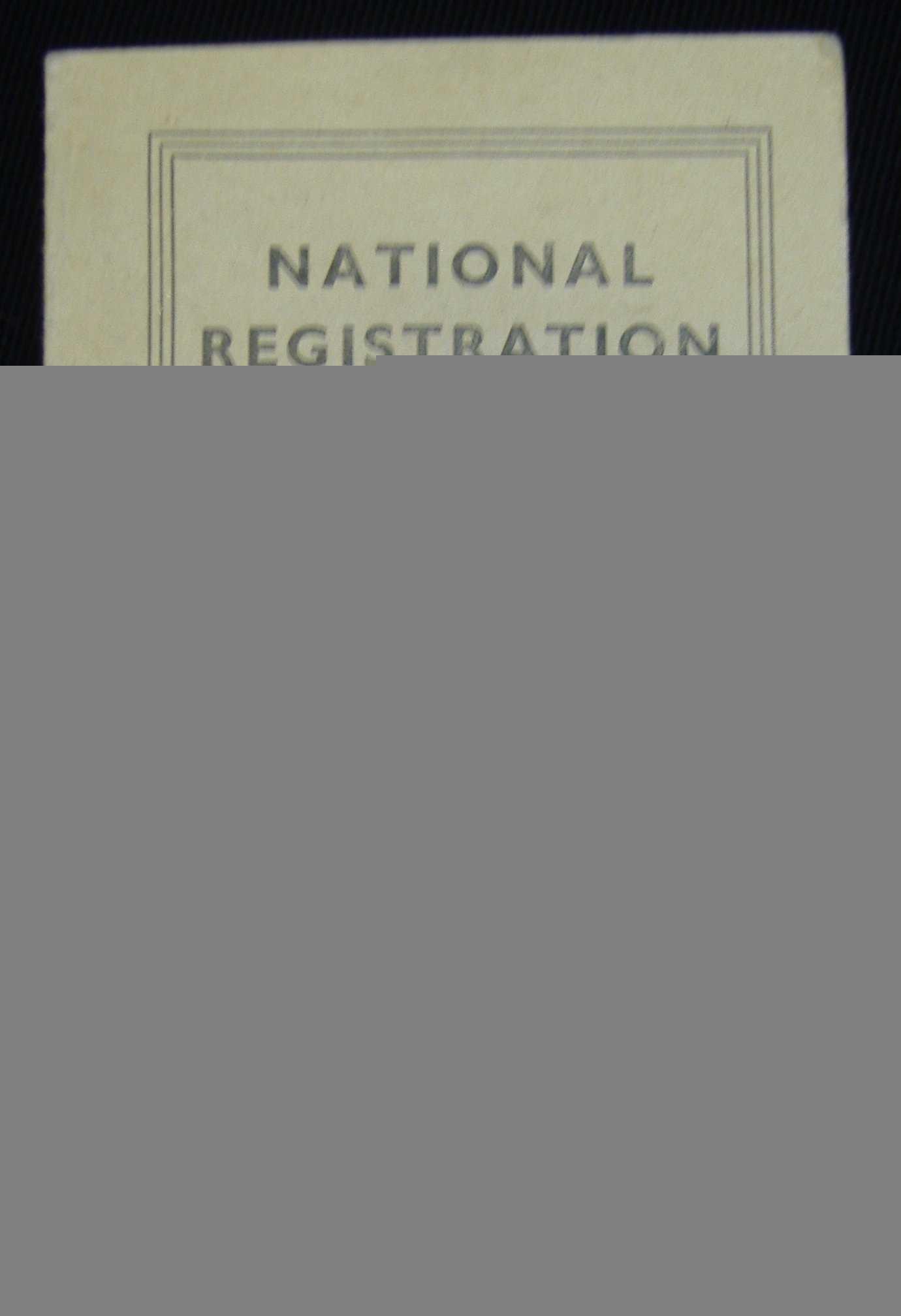 Child's Identity Card: Nen Gallery With Regard To World War 2 Identity Card Template