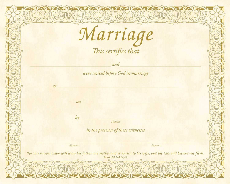 Christian Certificate Template ] - Christian Marriage Inside Christian Certificate Template