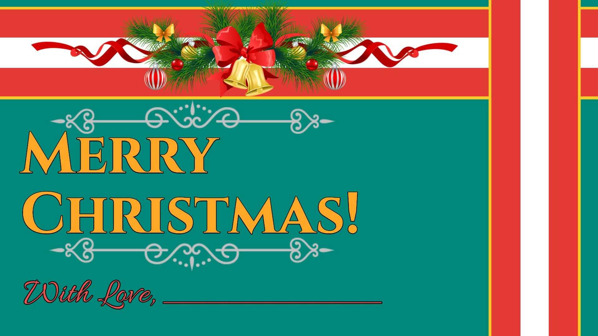 Christmas Card Template Regarding Happy Holidays Card Template