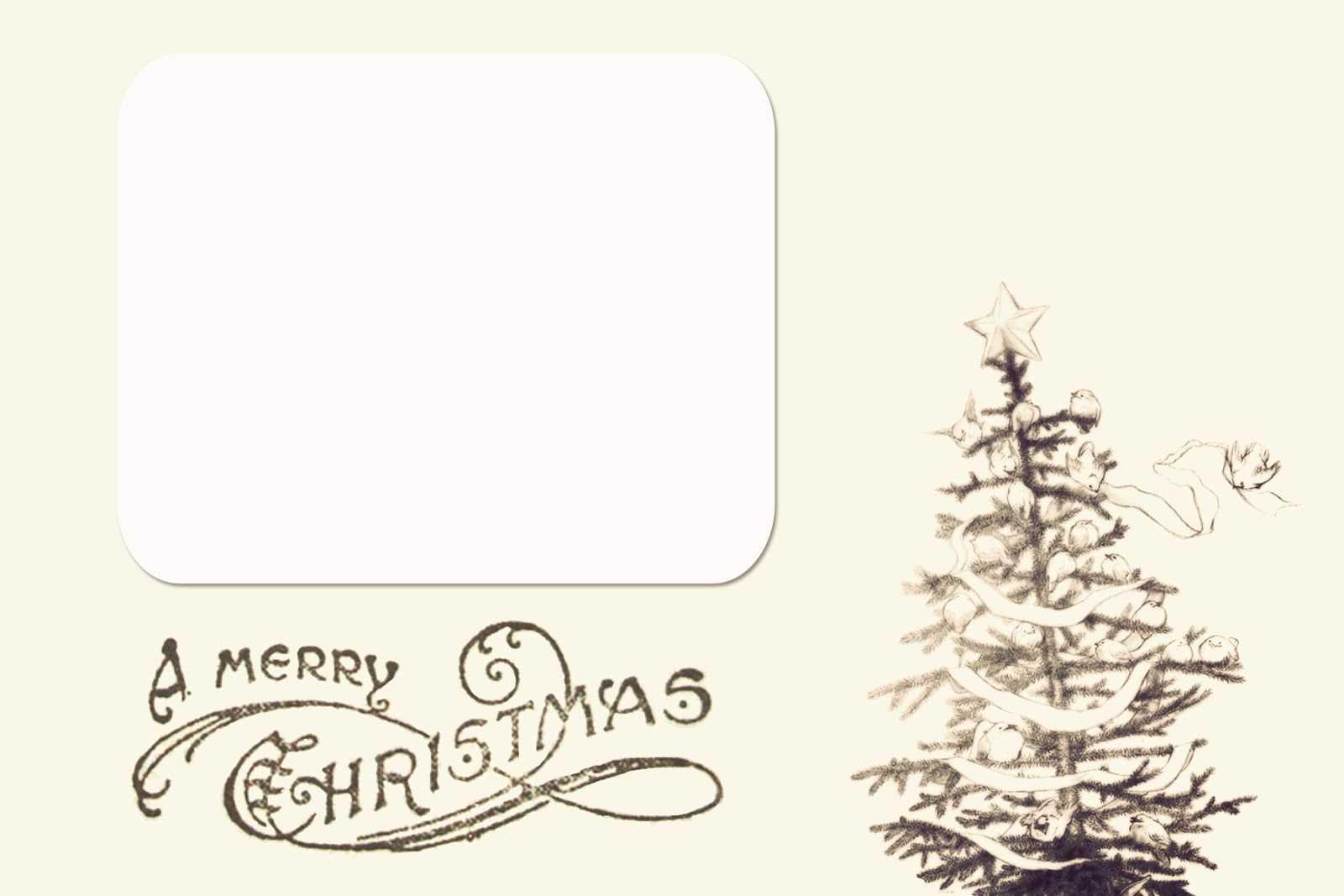 Christmas Image Templates – Tunu.redmini.co For Printable Holiday Card Templates