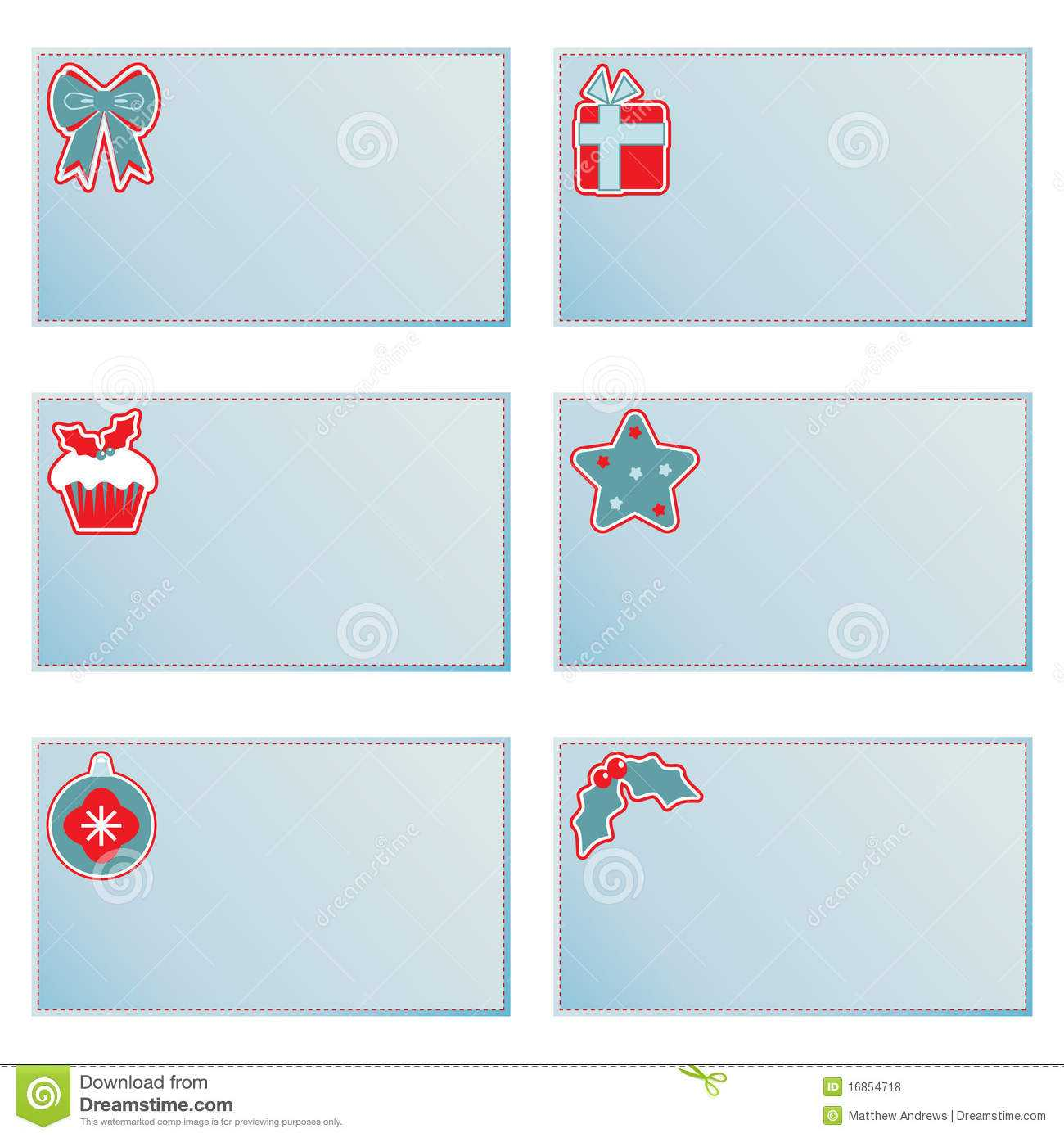 Christmas Note Cards Stock Vector. Illustration Of Regarding Christmas Note Card Templates
