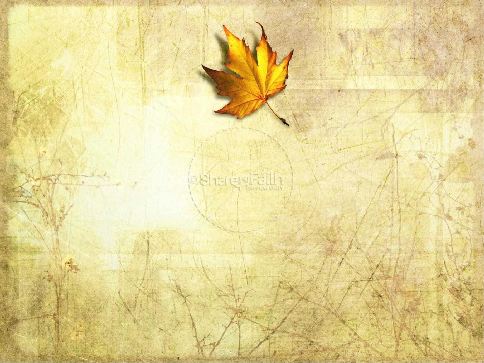 Church Fall Ppt Background – Autumn Powerpoint Template Fall Within Free Fall Powerpoint Templates