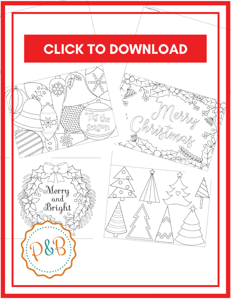 Coloring Pages : Coloring Pages Freehristmasard Sheets Throughout Template For Cards To Print Free