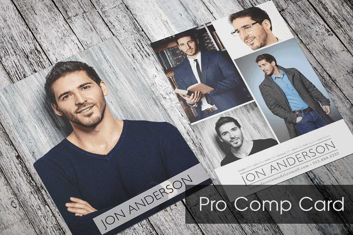 Comp Card For Models And Actors Made Easy Sedcard24 Com Free For Free Model Comp Card Template