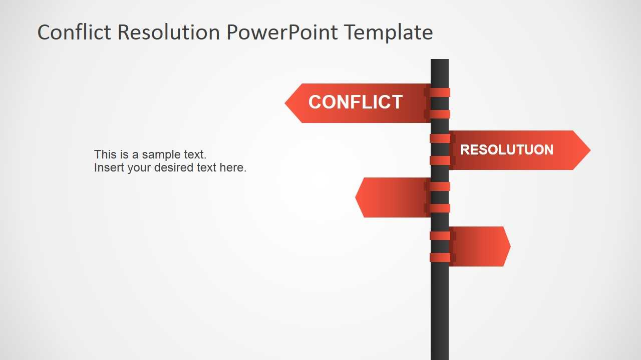 Conflict Resolution Powerpoint Template Throughout Powerpoint Template Resolution