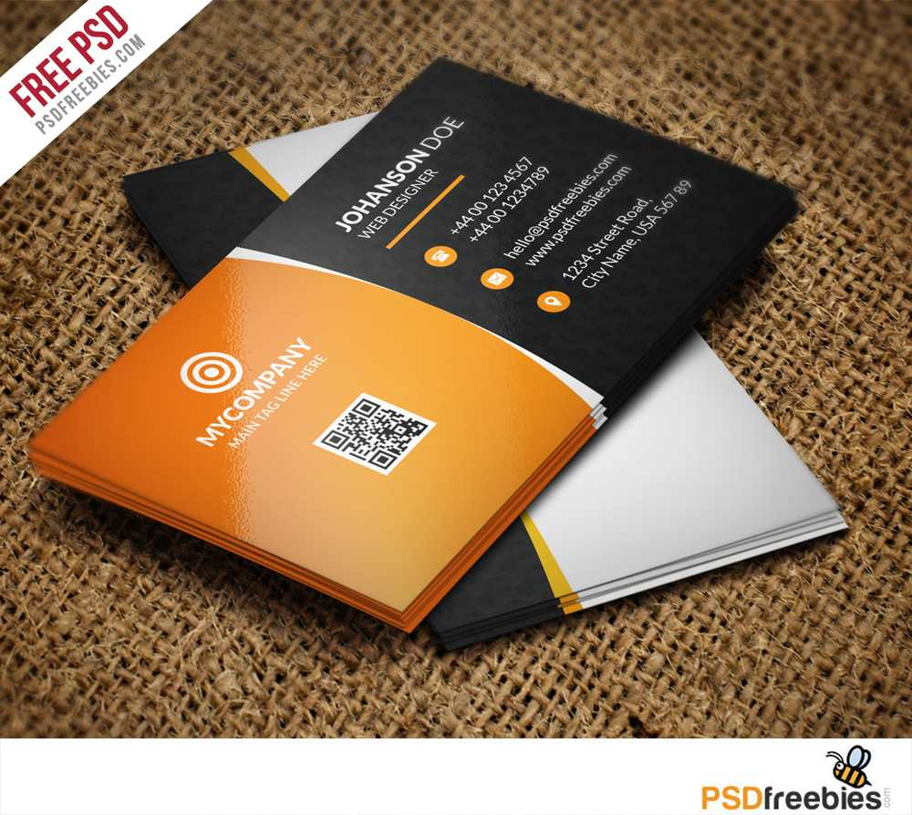 Corporate Business Card Bundle Free Psd | Psdfreebies Intended For Free Psd Visiting Card Templates Download