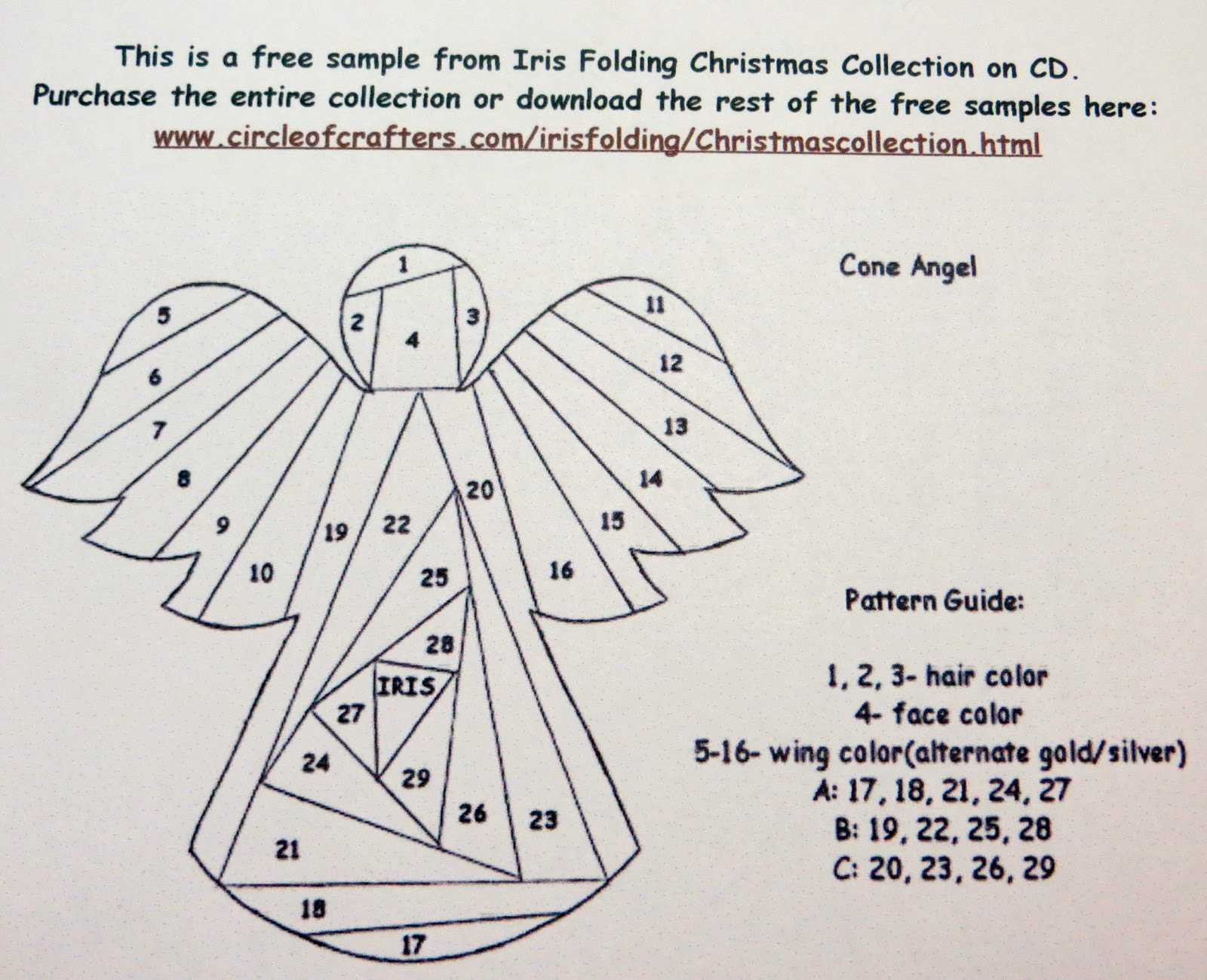 Creative Crafter: Iris Folding Instructions, Video And Photos In Iris Folding Christmas Cards Templates