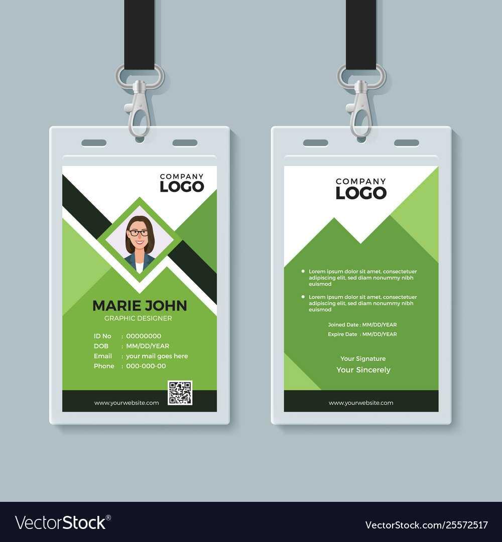 creative id card design  tunuredminico with regard to