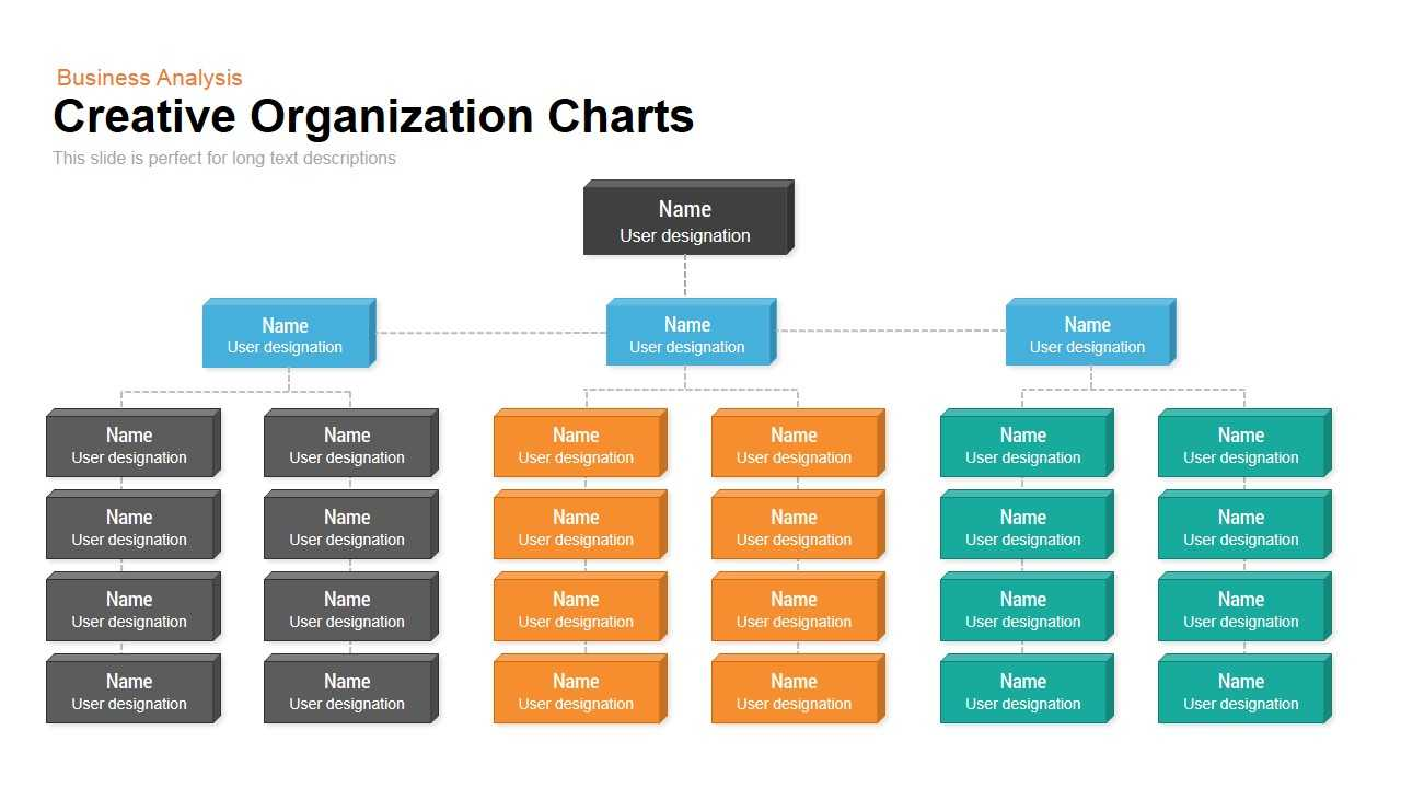 Creative Organization Chart Template For Powerpoint And Inside Microsoft Powerpoint Org Chart Template