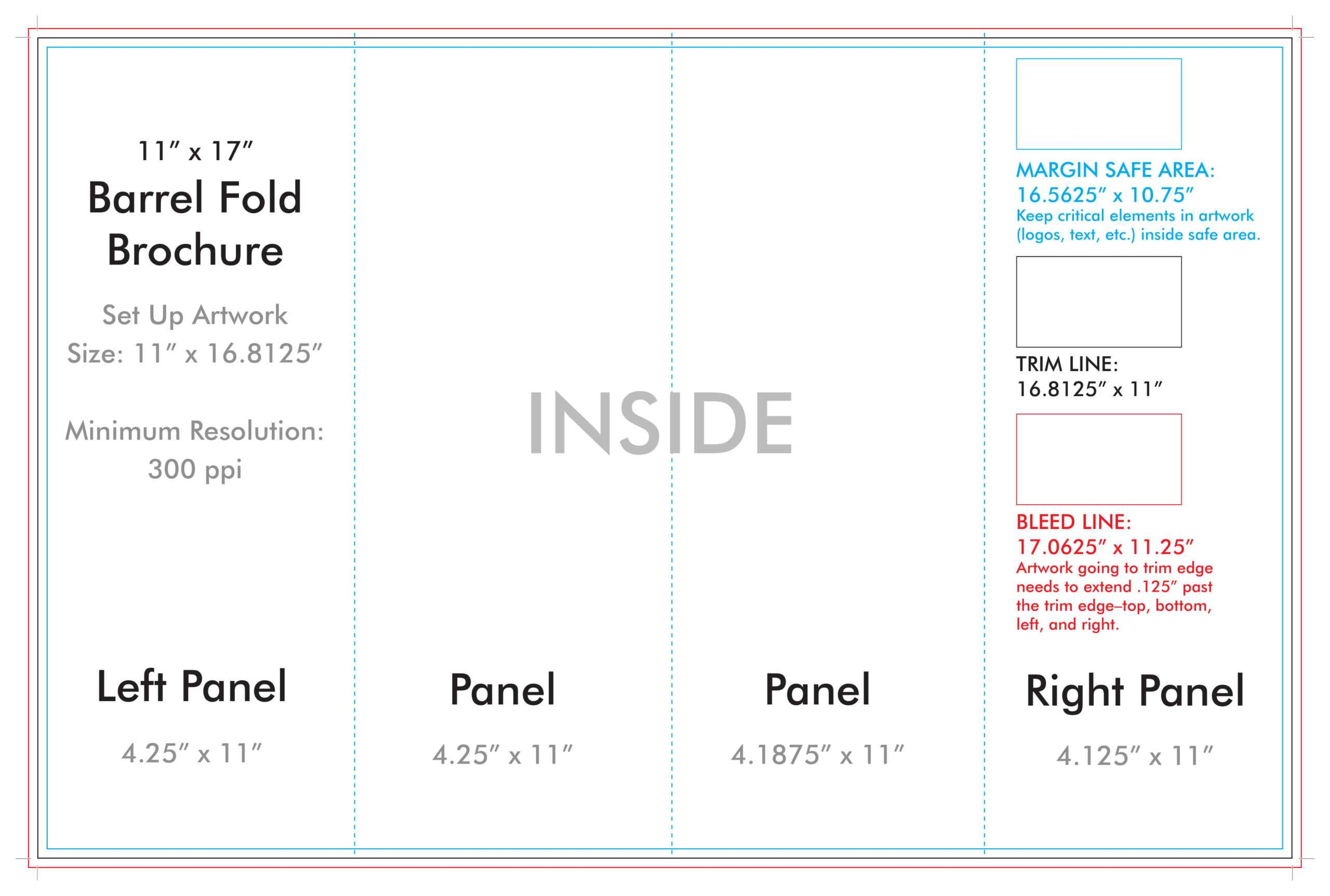 Custom Brochure Templates – Colona.rsd7 With Regard To 4 Panel Brochure Template