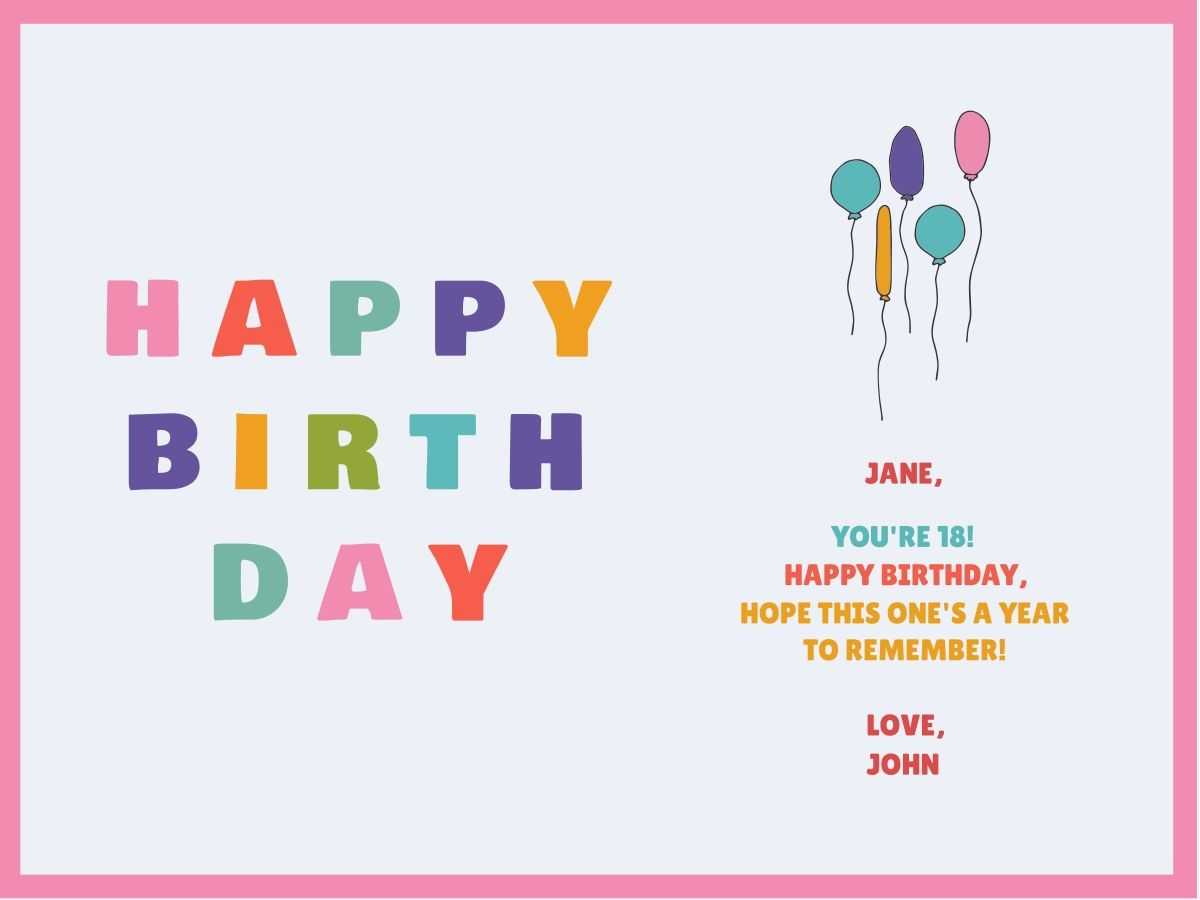 Customize Our Birthday Card Templates – Hundreds To Choose From Intended For Foldable Birthday Card Template