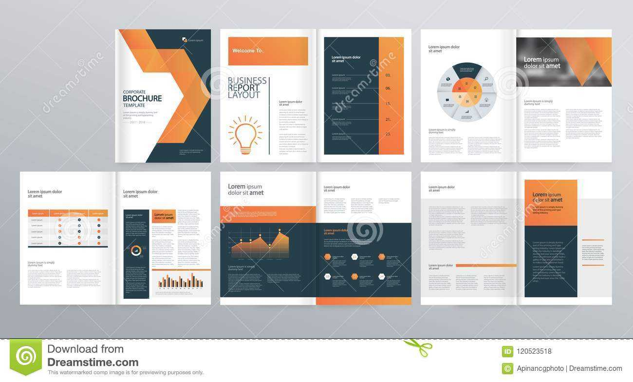 Design Layout Template For Company Profile ,annual Report Within Welcome Brochure Template