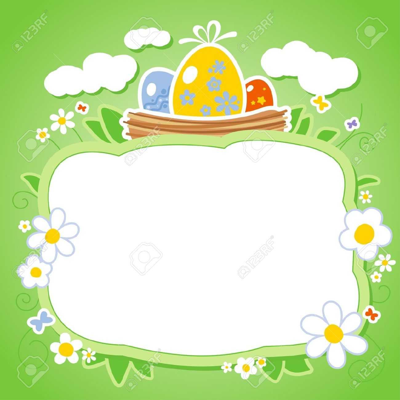 Easter Card Designs Ks2 Easter Card Template Design Easter Inside Easter Card Template Ks2