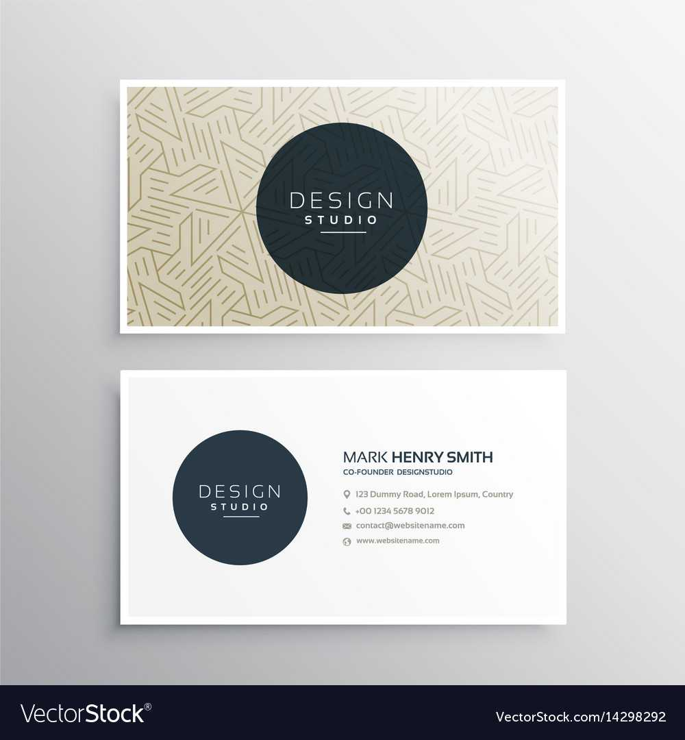 Elegrant Business Company Visiting Card Template Regarding Company Business Cards Templates