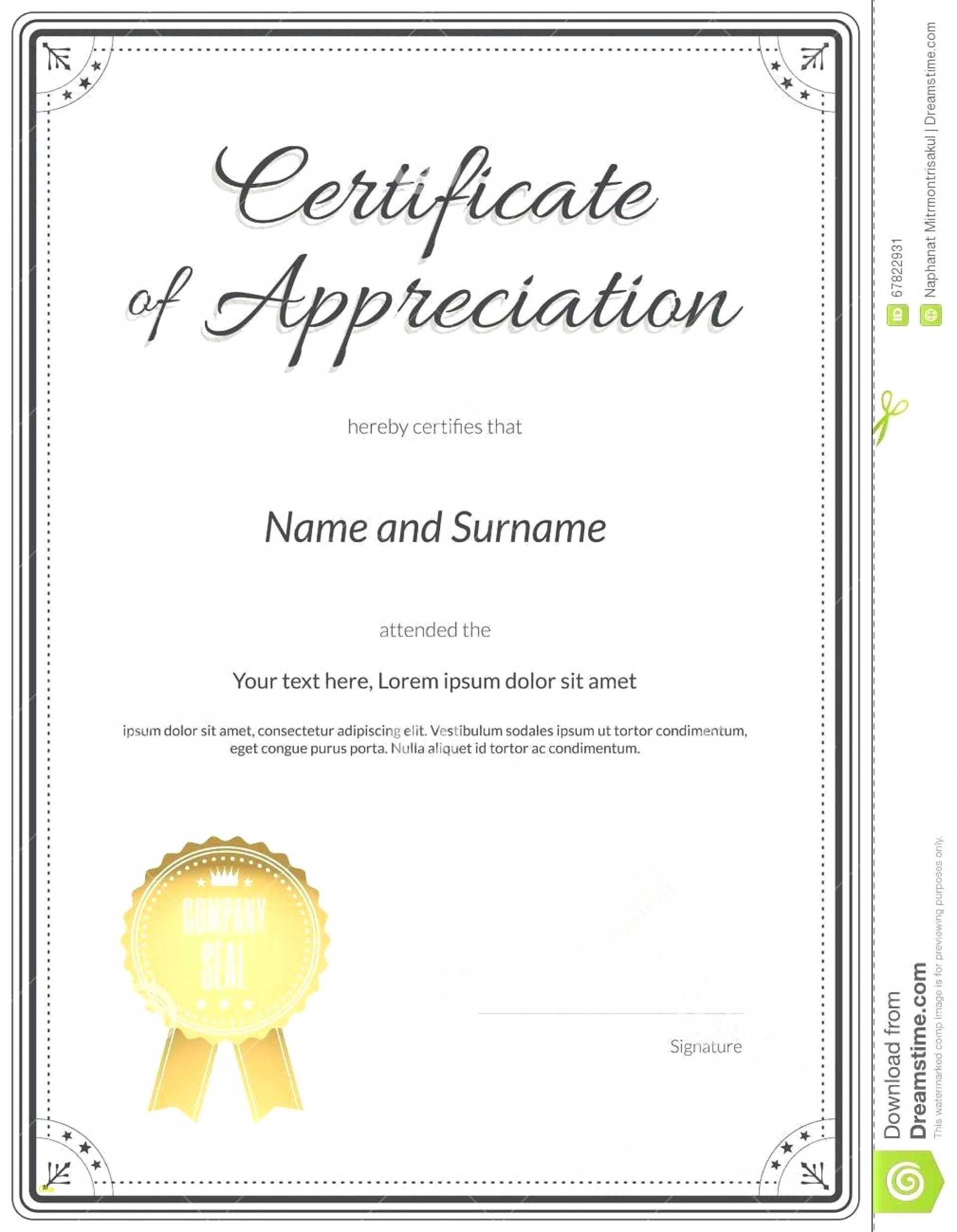 Fascinating Certificate Of Recognition Template Word Ideas Pertaining To Certificate Of Recognition Word Template