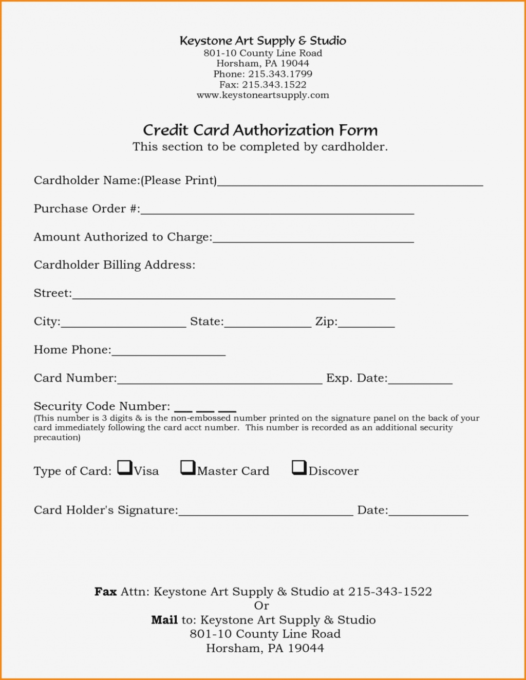 Form Example It Card Template Authorization Pdf Fillable Pertaining To Credit Card Billing Authorization Form Template
