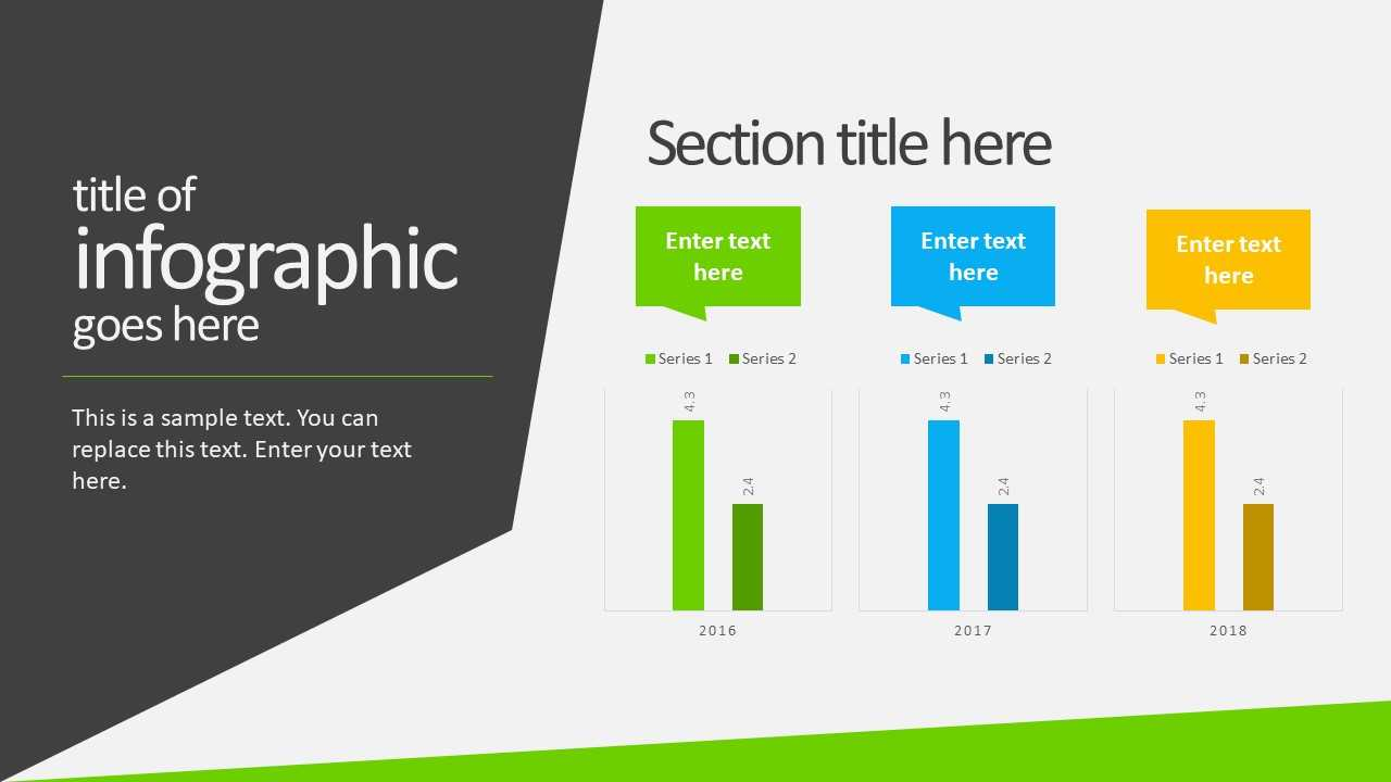 Free Animated Business Infographics Powerpoint Template Inside Powerpoint Animation Templates Free Download