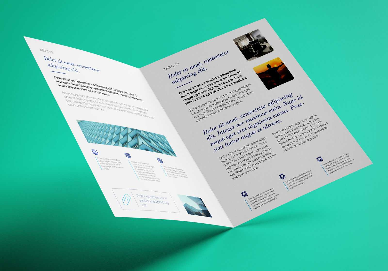 Free Bi Fold A4 Brochure Mockup Psd – Good Mockups With Regard To 2 Fold Brochure Template Psd