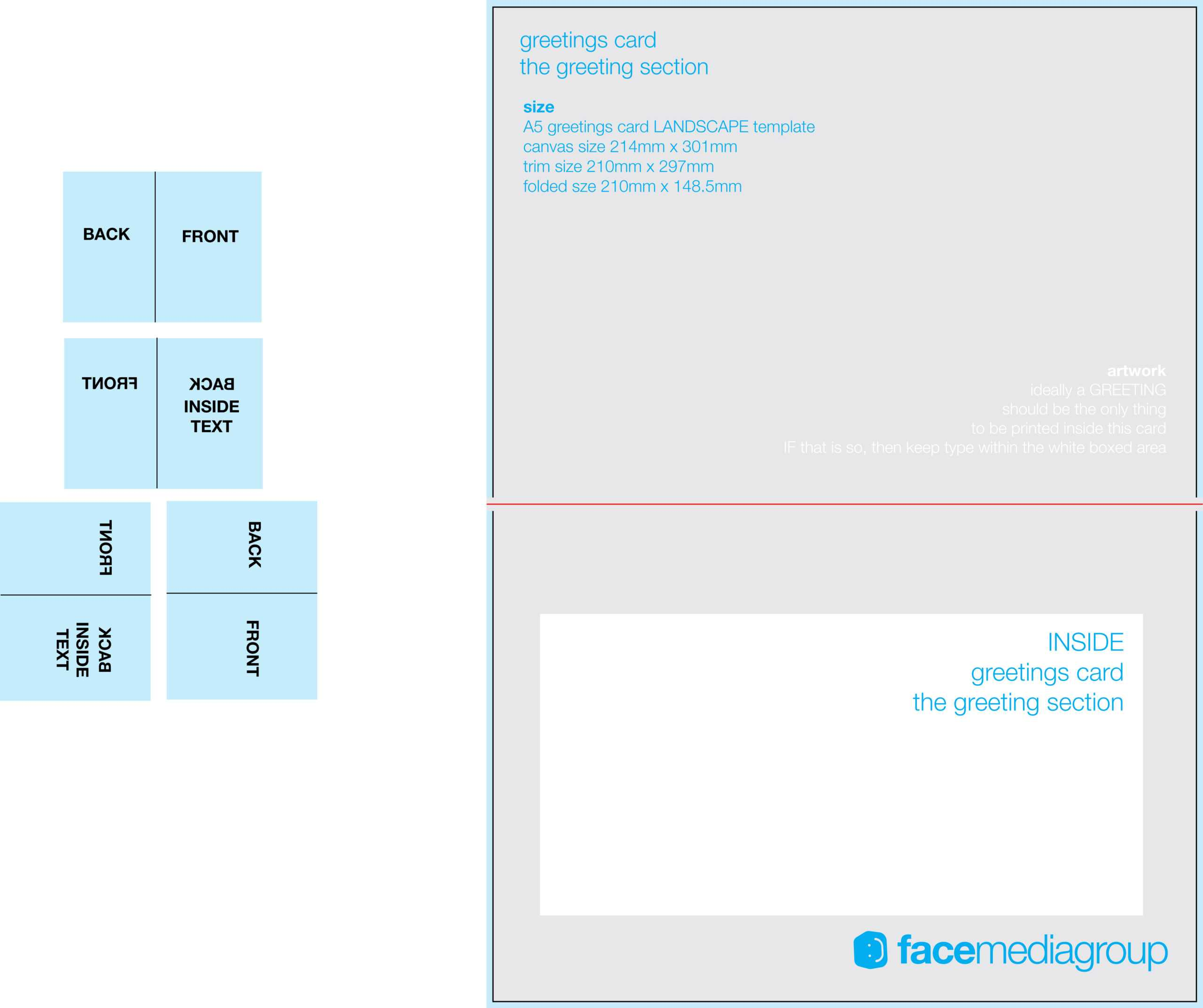Free Blank Greetings Card Artwork Templates For Download Within Greeting Card Layout Templates