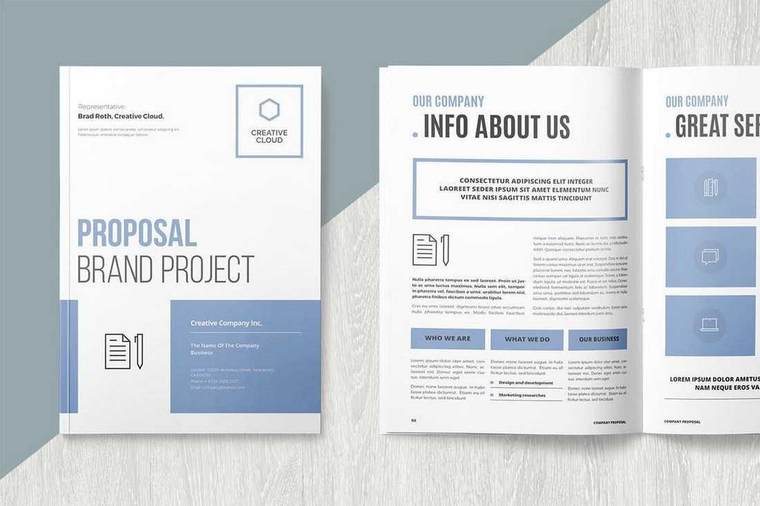 Free Brochure Template Word Beautiful Microsoft Brochure Intended For Brochure Template On Microsoft Word