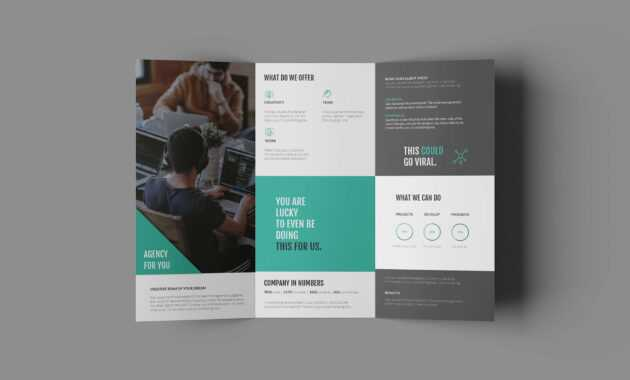Free Business Trifold Brochure Template (Ai) within Tri Fold Brochure Ai Template