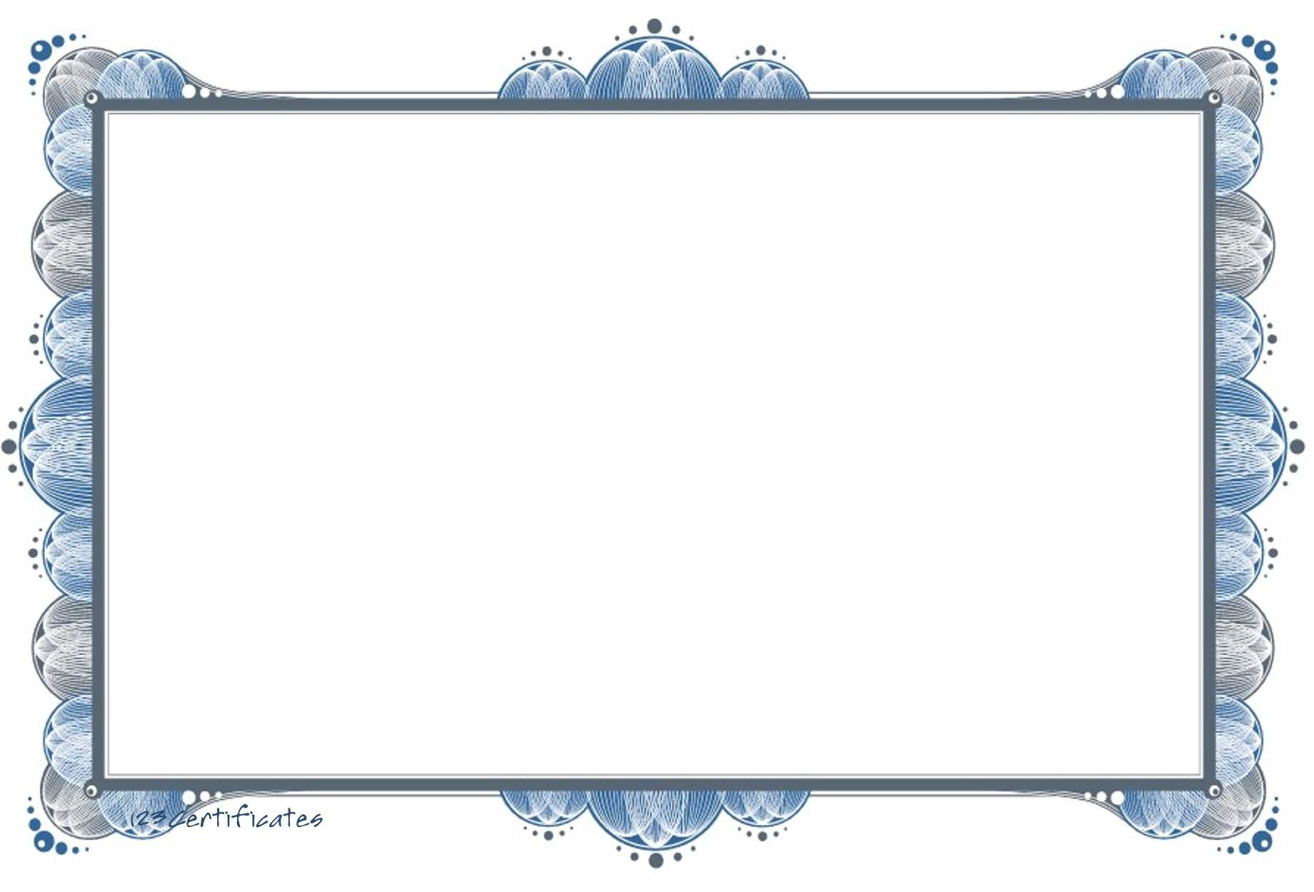 Free Certificate Border, Download Free Clip Art, Free Clip With Regard To Free Printable Certificate Border Templates