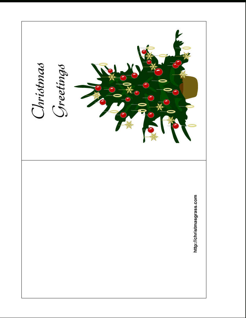 Free Christmas Greeting Card Templates Printable ] – Of Regarding Printable Holiday Card Templates