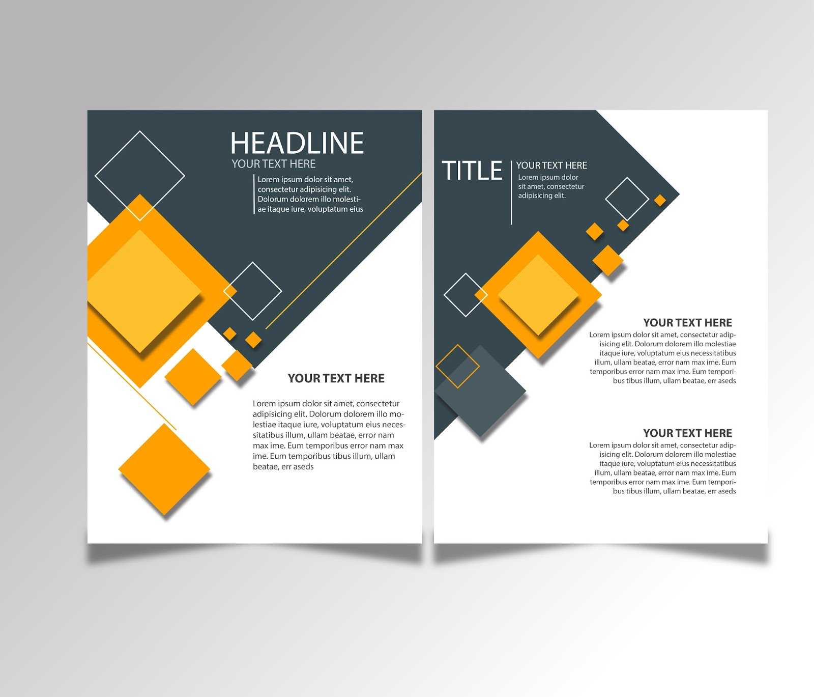 Free Download Brochure Design Templates Ai Files - Ideosprocess Throughout Adobe Illustrator Brochure Templates Free Download