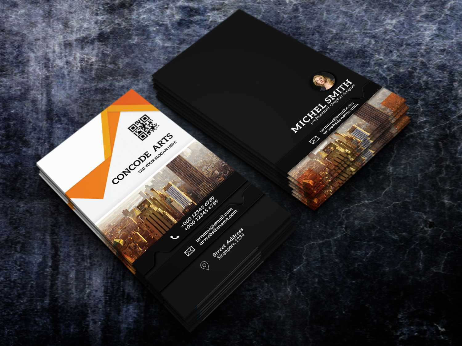 Free Download Professional Building Construction Business Inside Construction Business Card Templates Download Free