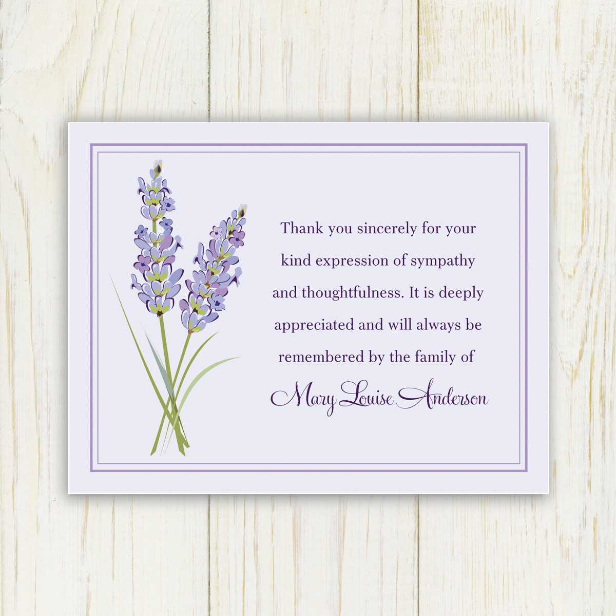 Free Funeral Thank You Cards Templates – Air Media Design Pertaining To Sympathy Thank You Card Template