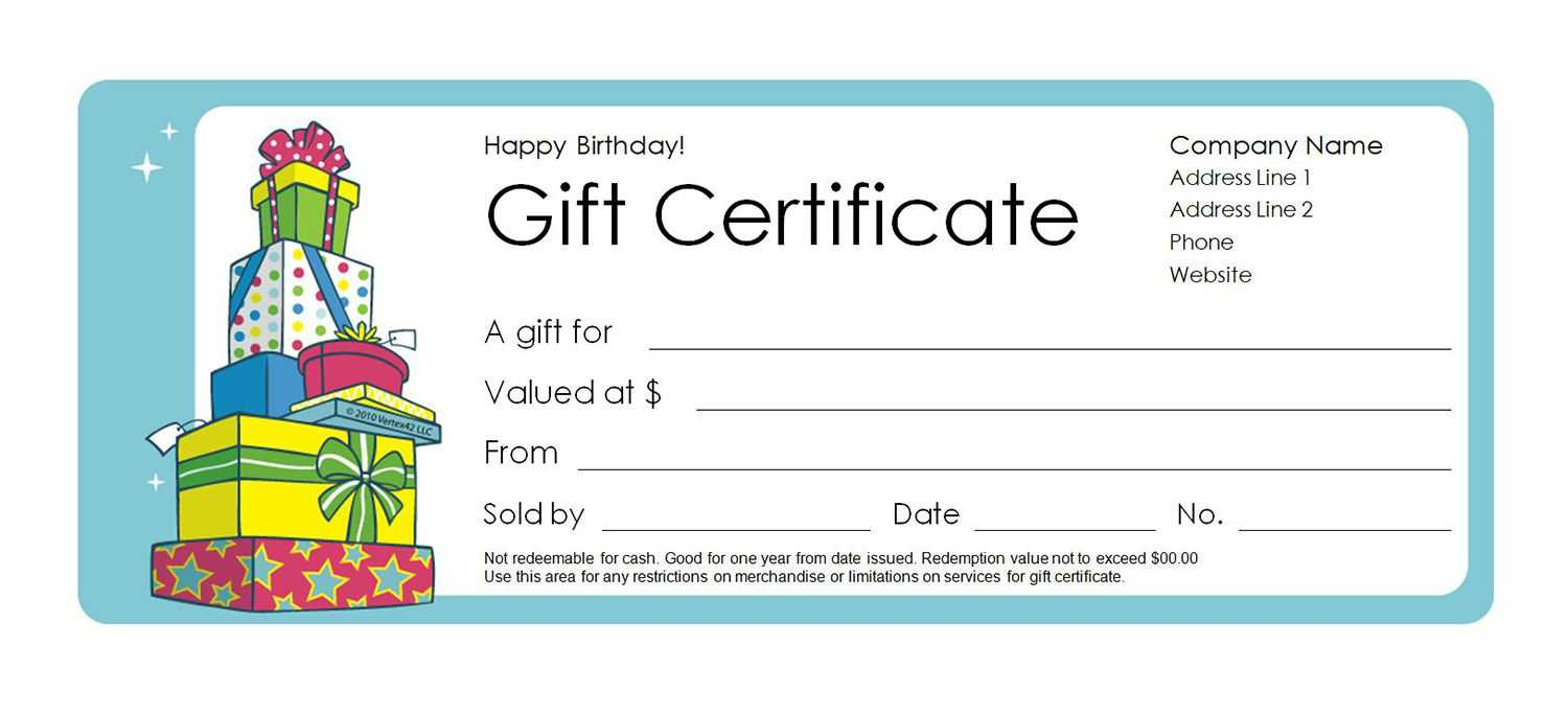 Free Gift Certificate Creator - Colona.rsd7 Inside Present Certificate Templates