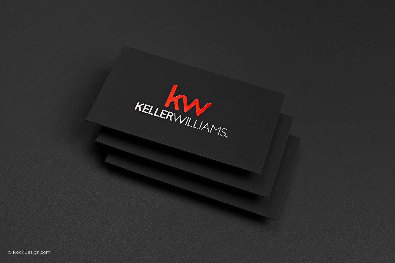 Free Keller Williams Business Card Template With Print Inside Keller Williams Business Card Templates