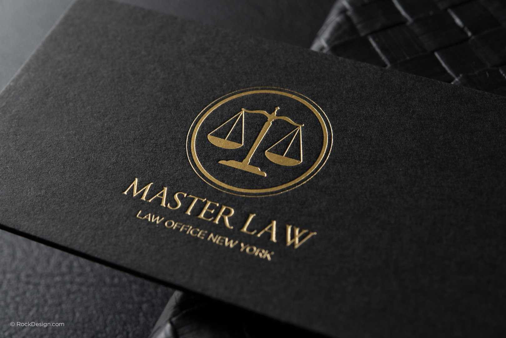 Free Lawyer Business Card Template | Rockdesign Inside Lawyer Business Cards Templates