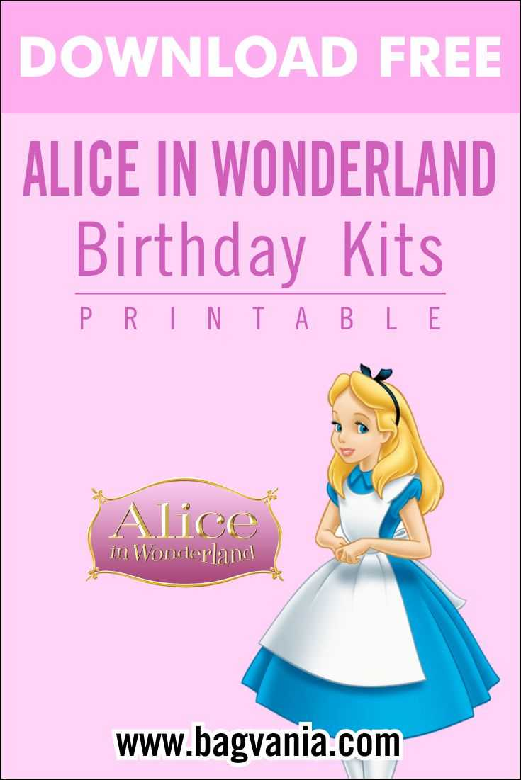 Free Printable Alice In Wonderland Birthday Party Kits Within Alice In Wonderland Card Soldiers Template