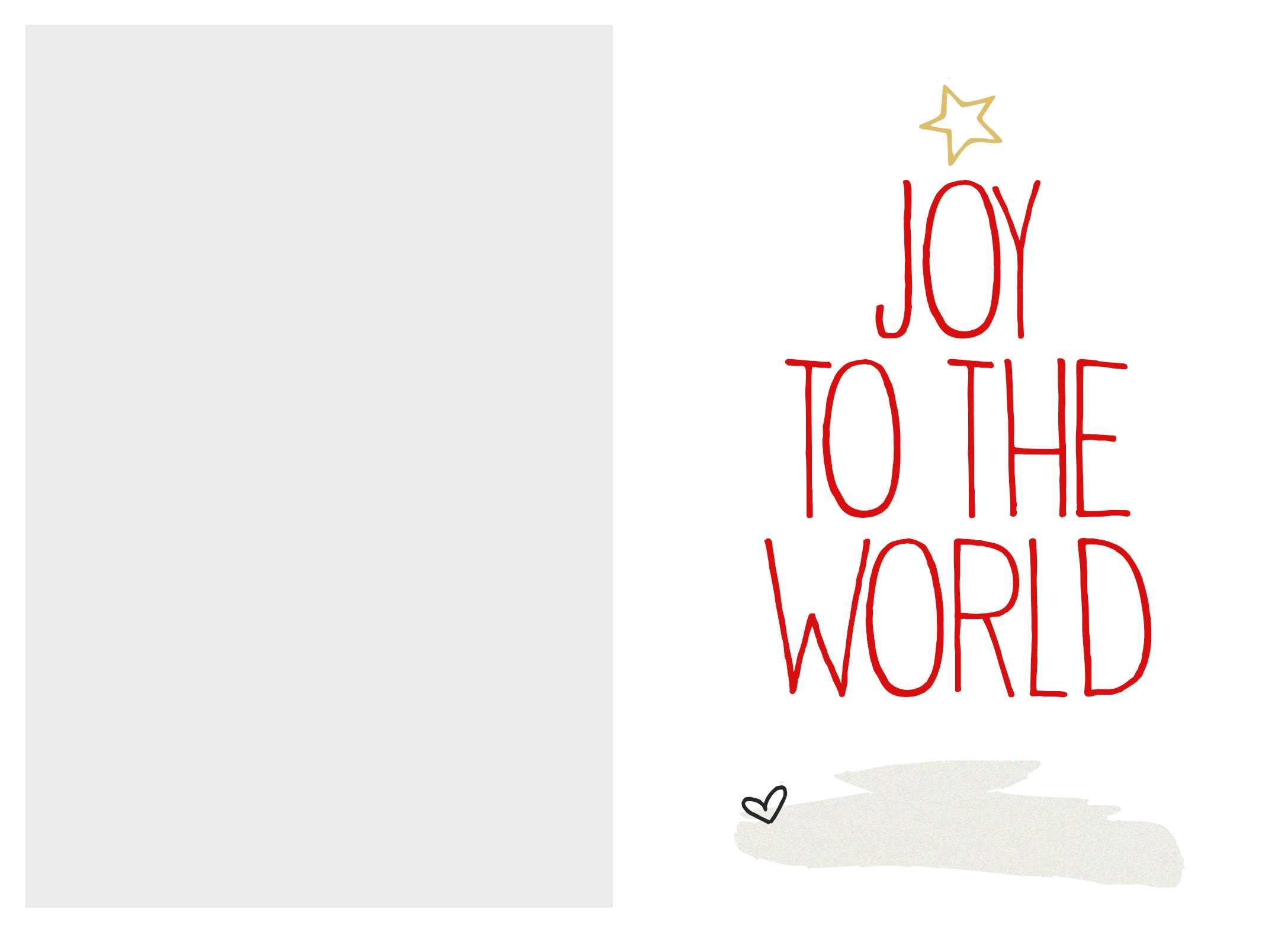 Free Printable Christmas Card Templates – Christmas Printables With Printable Holiday Card Templates