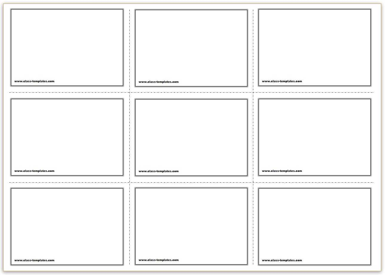 Free Printable Flash Cards Template For Free Printable Flash Cards Template