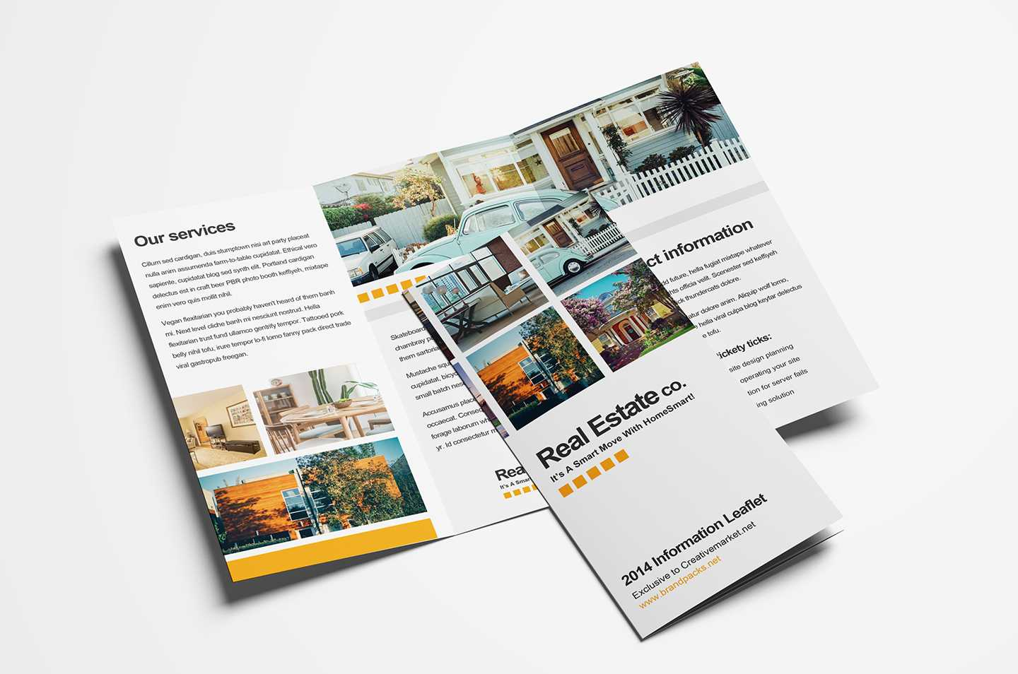 Free Real Estate Trifold Brochure Template In Psd, Ai With Regard To Real Estate Brochure Templates Psd Free Download