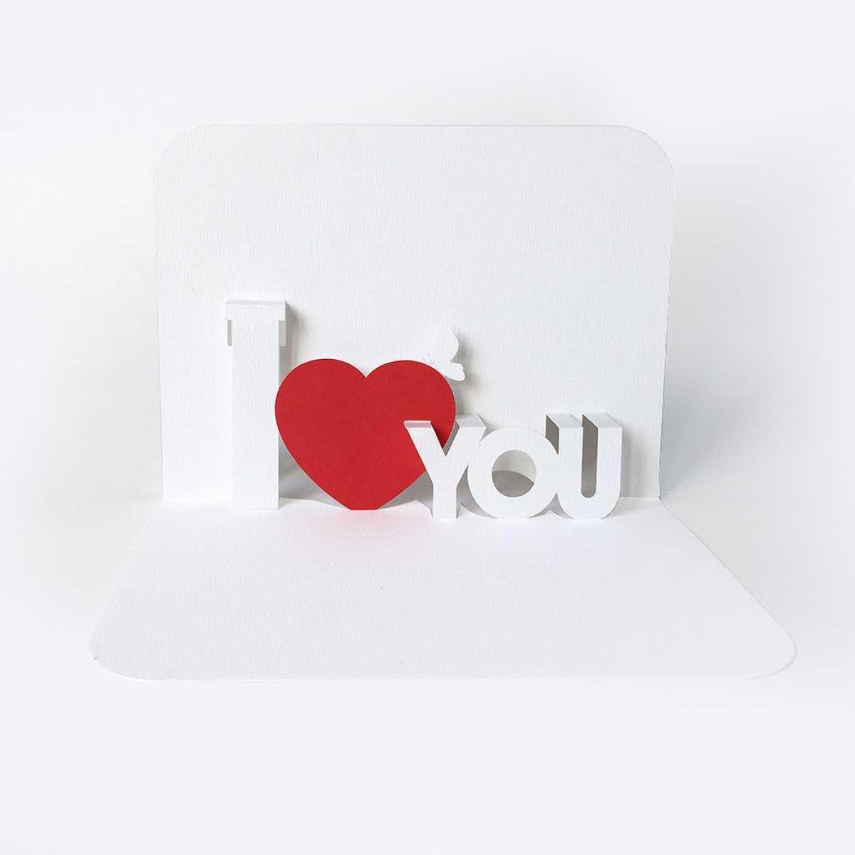 Free Templates Regarding I Love You Pop Up Card Template