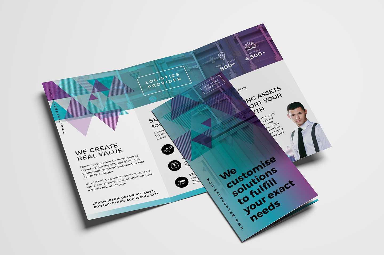 Free Trifold Brochure Template Vol.2 In Psd, Ai & Vector Within 2 Fold Brochure Template Psd