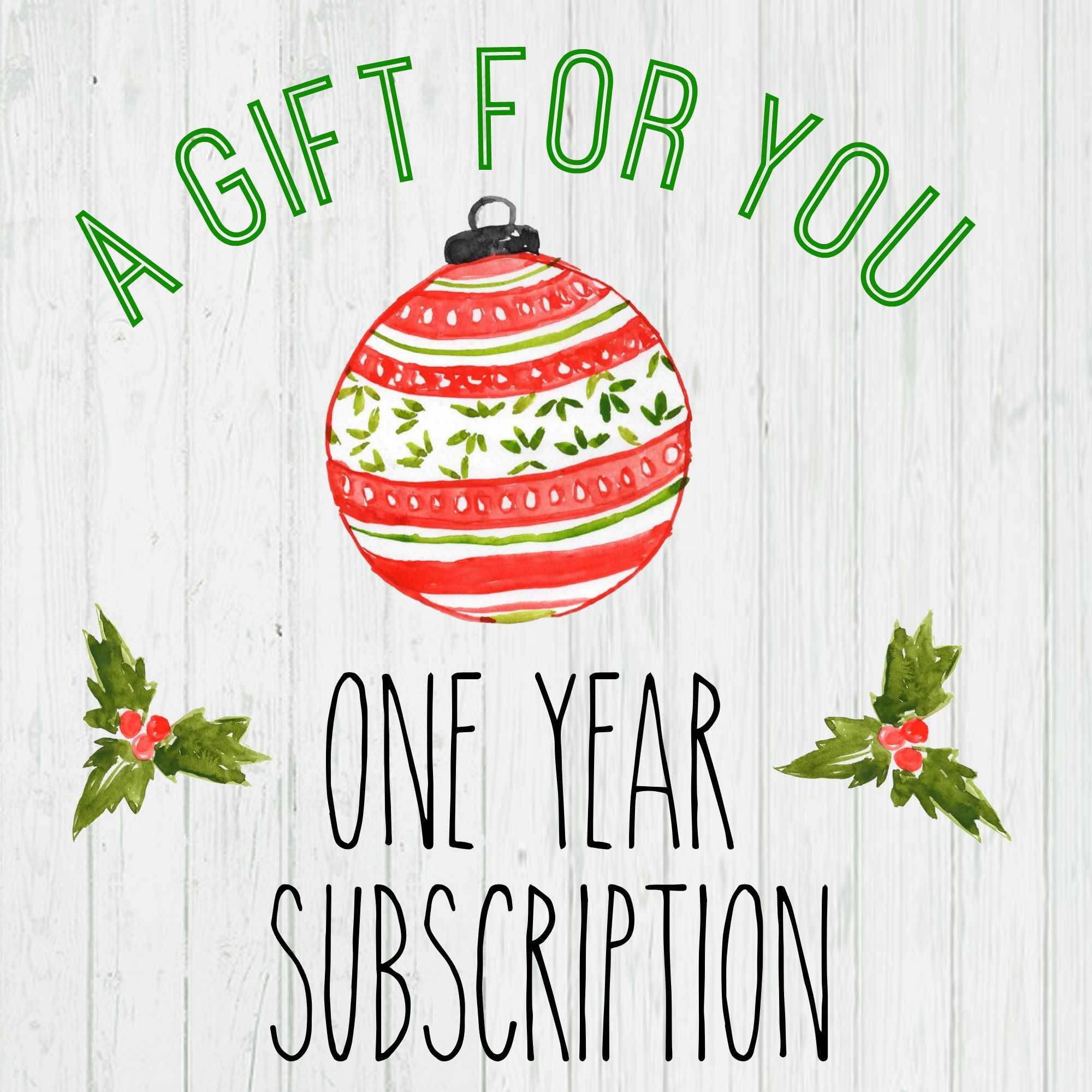 Gift A Magazine Subscription With Our Free Printable Cards For Magazine Subscription Gift Certificate Template