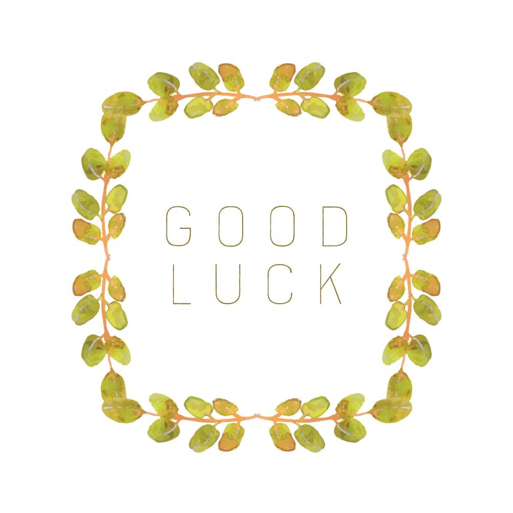 Good Luck Card Templates - Tunu.redmini.co With Regard To Good Luck Card Templates