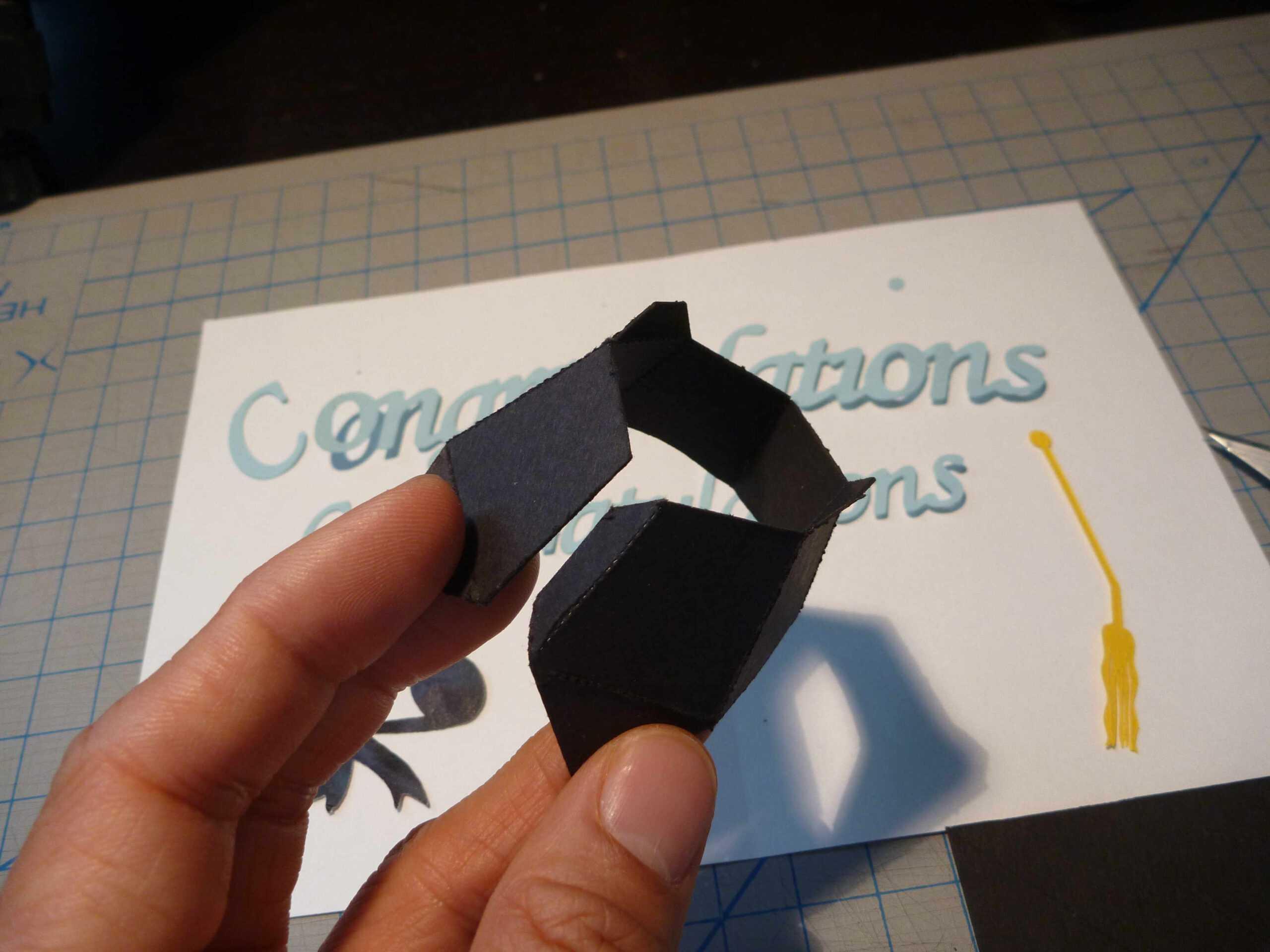 Graduation Pop Up Card: 3D Cap Tutorial – Creative Pop Up Cards Within Graduation Pop Up Card Template