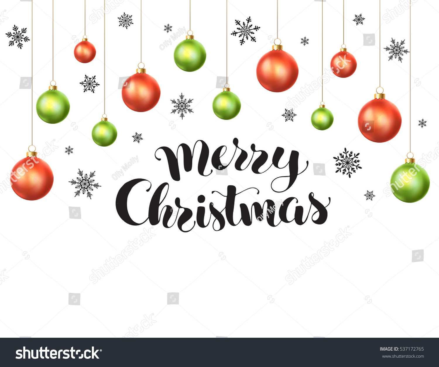 Happy Holidays Greeting Card Template Modern Stock Vector For Happy Holidays Card Template