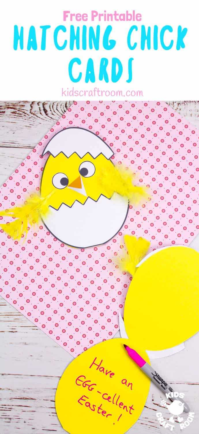 Hatching Chick Easter Card Craft – Kids Craft Room Within Easter Chick Card Template